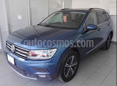 Volkswagen Tiguan 5p Confortline L4/1.4/T Aut 7 Pas usado (2019) color Azul precio $399,500