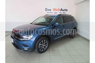 Volkswagen Tiguan Comfortline 5 Asientos Piel usado (2018) color Blanco precio $412,880