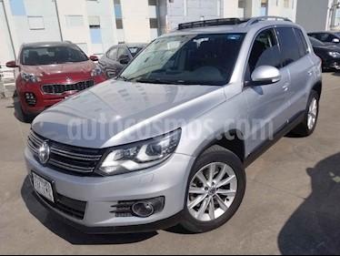 Volkswagen Tiguan 5p Track&Fun 4M L4/2.0/T Aut usado (2014) color Plata precio $250,000