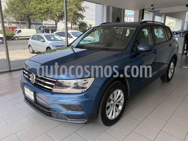 Volkswagen Tiguan Trendline Plus usado (2019) color Azul precio $350,000