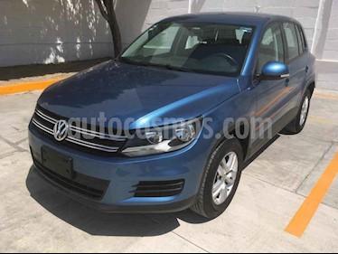 Volkswagen Tiguan Sport & Style 1.4 usado (2017) color Azul precio $235,000
