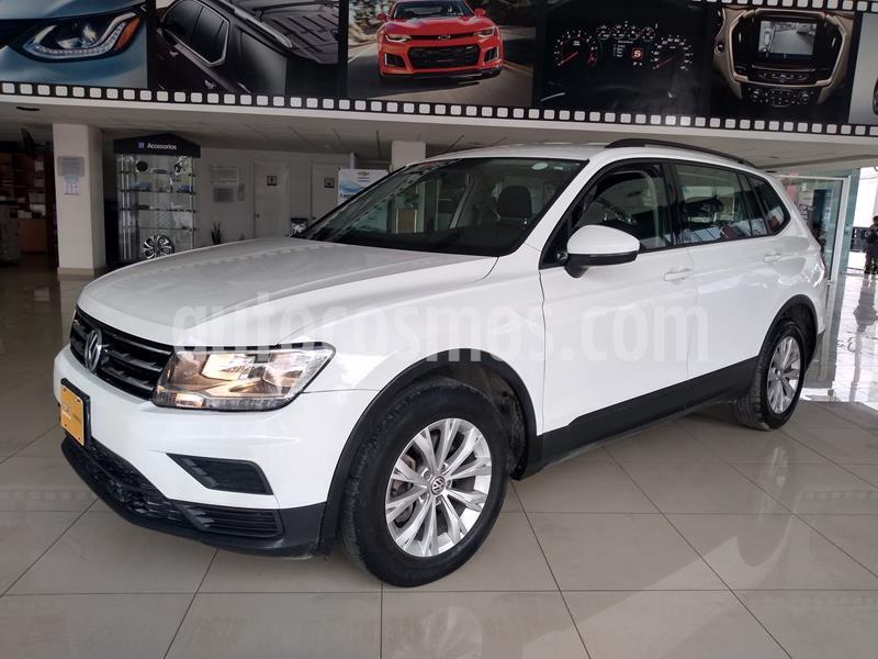 Volkswagen Tiguan Trendline Plus usado (2018) color Blanco precio $315,000