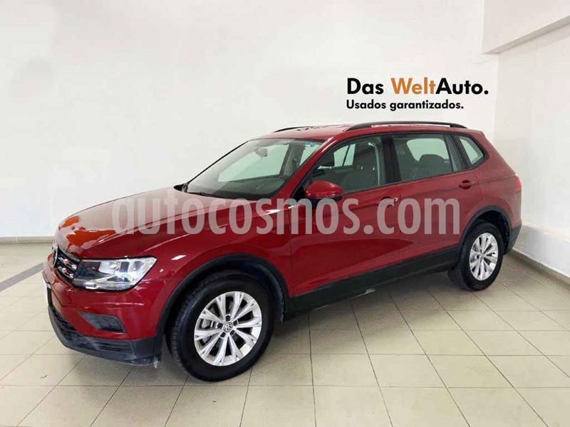 Foto Volkswagen Tiguan Trendline Plus usado (2018) color Rojo precio $319,393