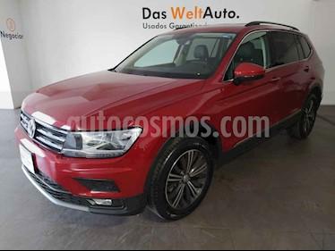 Volkswagen Tiguan 5p Confortline L4/1.4/T Aut Piel usado (2019) color Rojo precio $426,000