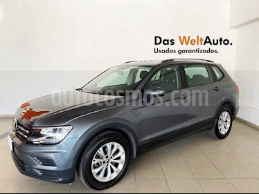 Volkswagen Tiguan 5p Trendline Plus 1.4 L4/1.4/T Aut usado (2019) color Gris precio $359,718