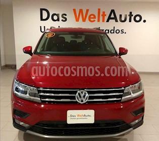 Volkswagen Tiguan Comfortline 7 Asientos Tela usado (2019) color Rojo precio $399,000