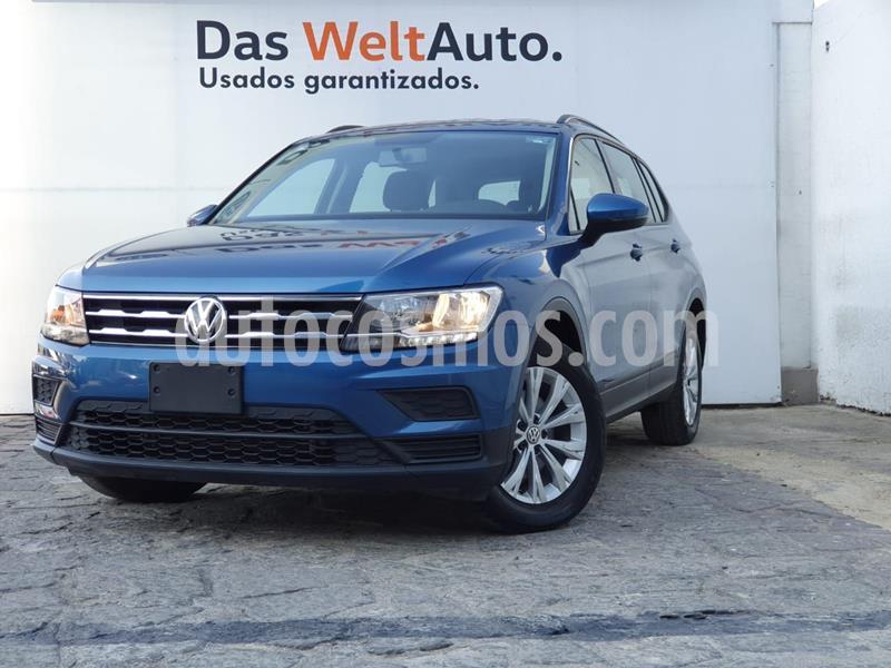 Volkswagen Tiguan Trendline Plus usado (2018) color Azul precio $365,000