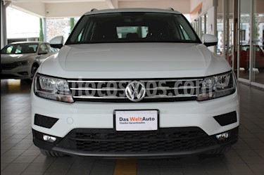 Volkswagen Tiguan Comfortline 7 Asientos Tela usado (2019) color Blanco precio $422,500