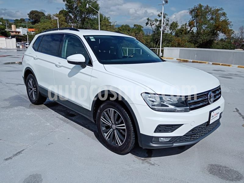 Volkswagen Tiguan Comfortline 7 Asientos Tela usado (2019) color Blanco precio $415,001