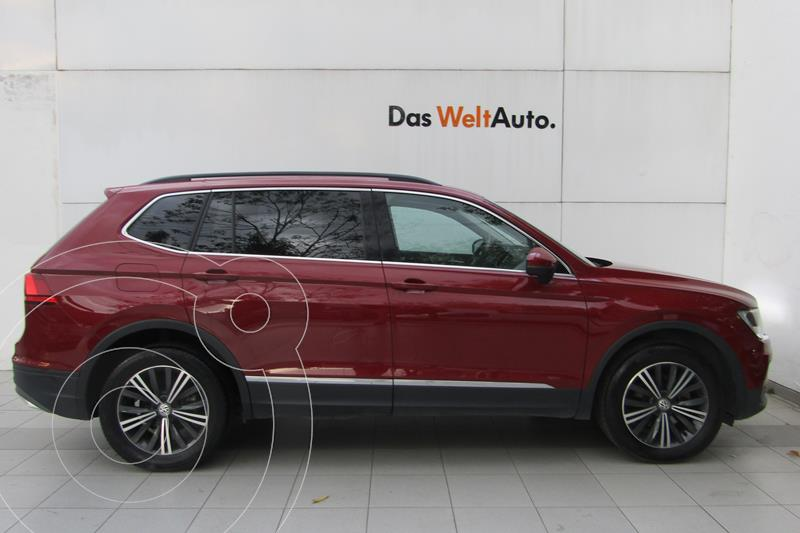 Volkswagen Tiguan Comfortline 7 Asientos Tela usado (2019) color Rojo Rubi precio $425,000