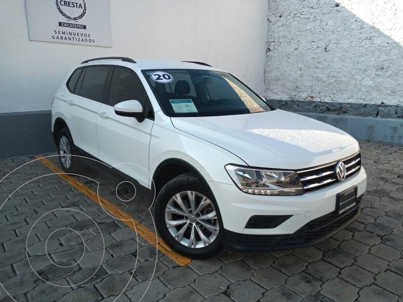 Foto Volkswagen Tiguan Trendline Plus usado (2020) color Blanco precio $419,900