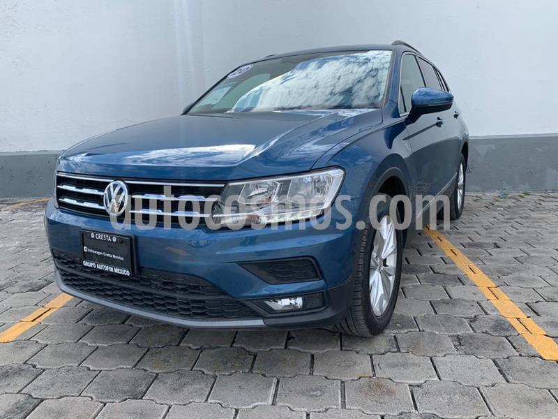 Volkswagen Tiguan Comfortline 5 Asientos Piel usado (2020) color Azul precio $475,000