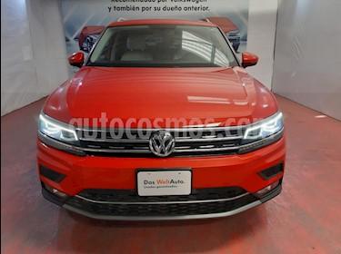 Volkswagen Tiguan Highline usado (2019) color Naranja precio $550,000