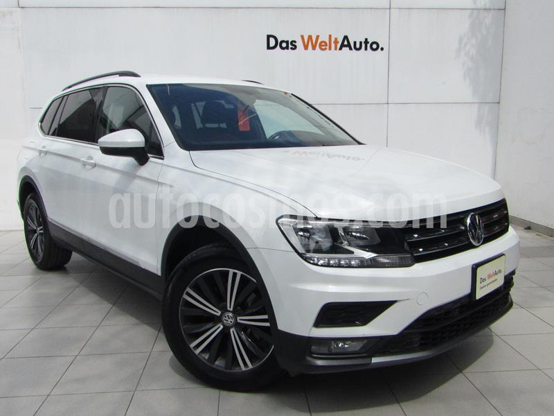 Volkswagen Tiguan Comfortline 5 Asientos Piel usado (2019) color Blanco precio $419,000
