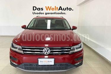 Volkswagen Tiguan 5p Confortline L4/1.4/T Aut Piel usado (2019) color Rojo precio $394,516