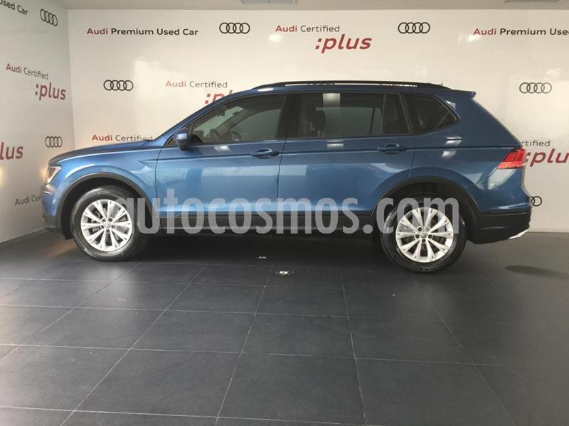 Volkswagen Tiguan Trendline Plus usado (2018) color Azul precio $300,000