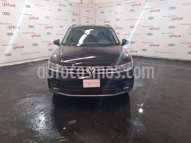 Volkswagen Tiguan Comfortline 5 Asientos Piel usado (2019) color Negro Profundo precio $425,000