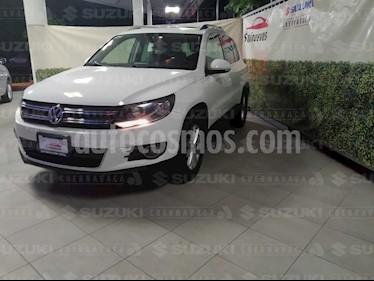 Volkswagen Tiguan Track & Fun Piel usado (2012) color Blanco Candy precio $187,000