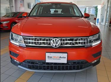 Volkswagen Tiguan Comfortline usado (2018) color Naranja precio $365,000
