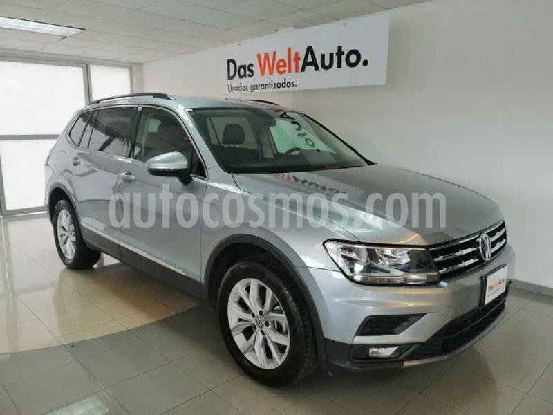 Volkswagen Tiguan Comfortline 5 Asientos Piel usado (2020) color Plata precio $459,000