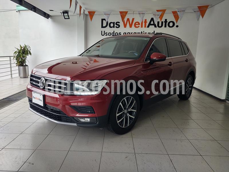 Volkswagen Tiguan Comfortline usado (2018) color Rojo Rubi precio $379,000