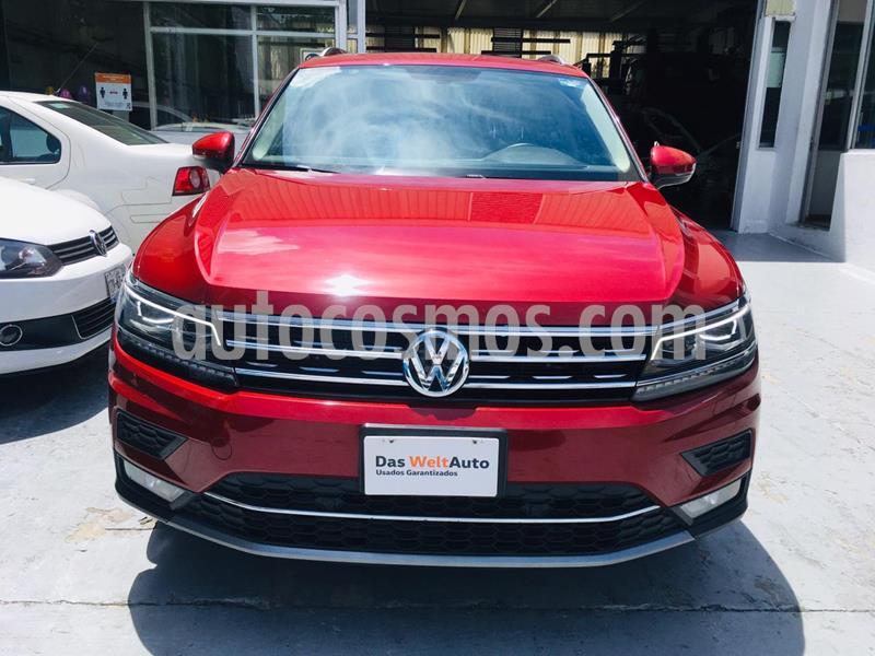 Volkswagen Tiguan Highline usado (2018) color Rojo Rubi precio $455,000