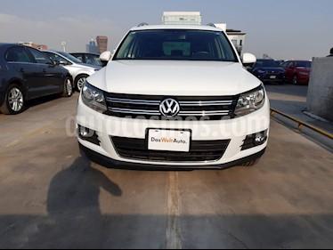 Volkswagen Tiguan Track & Fun  usado (2014) color Blanco Candy precio $249,000