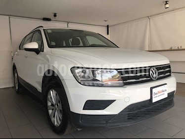 Volkswagen Tiguan 5 pts. Trendline Plus usado (2018) color Blanco precio $355,000