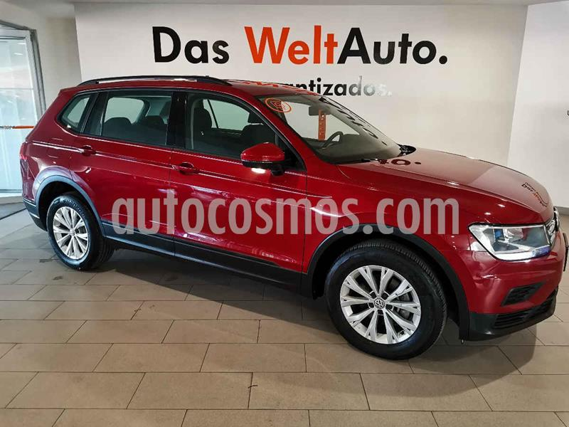 Foto Volkswagen Tiguan Trendline Plus usado (2019) color Rojo precio $359,900