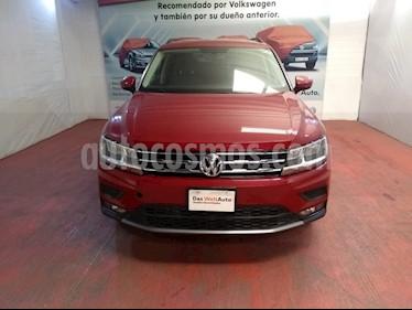 Volkswagen Tiguan Comfortline 7 Asientos Tela usado (2019) color Rojo Rubi precio $420,000