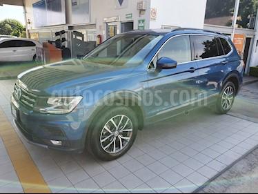 Volkswagen Tiguan Comfortline 7 Asientos Tela usado (2018) color Azul precio $379,900
