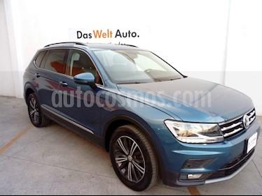 Volkswagen Tiguan Comfortline 7 Asientos Tela usado (2019) color Azul precio $422,000