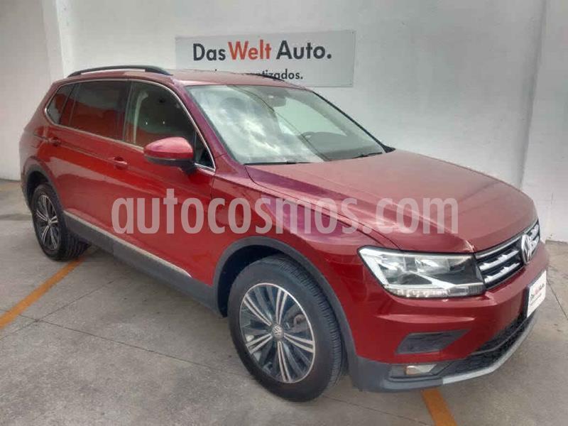 Volkswagen Tiguan Comfortline 7 Asientos Tela usado (2019) color Vino Tinto precio $399,000