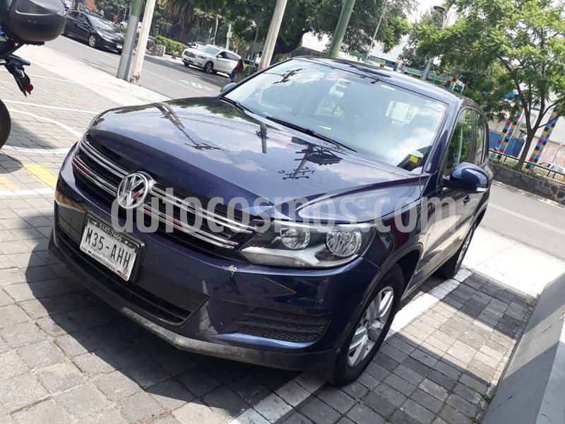 Volkswagen Tiguan Tiptronic usado (2016) color Azul precio $215,000