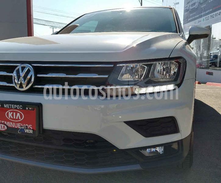 Volkswagen Tiguan Comfortline 7 Asientos Tela usado (2019) color Blanco precio $414,900
