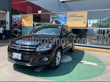 Volkswagen Tiguan 5p Track & Fun Tiptronic Climatronic q/c Sistema d usado (2013) color Negro precio $207,000