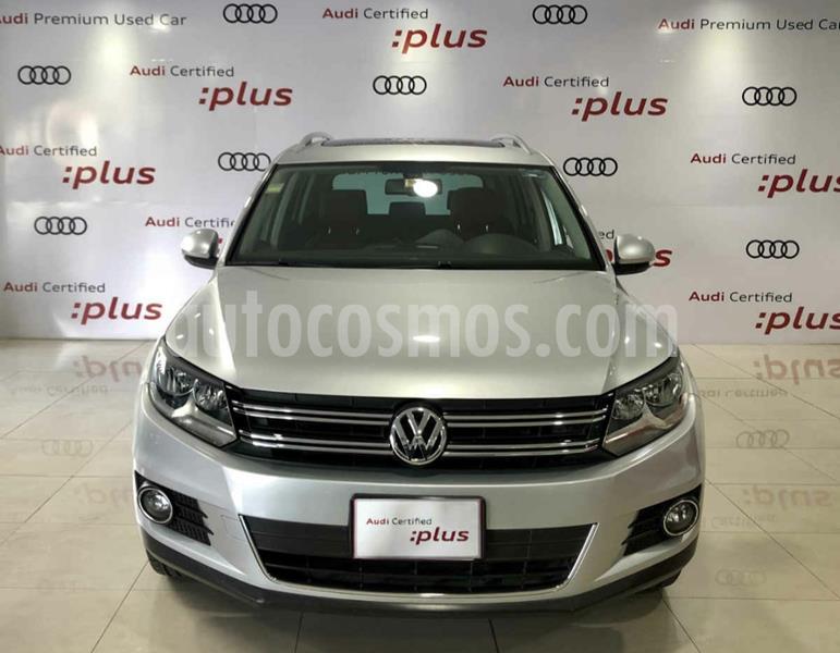 Volkswagen Tiguan Track & Fun Piel usado (2013) color Plata Reflex precio $229,900