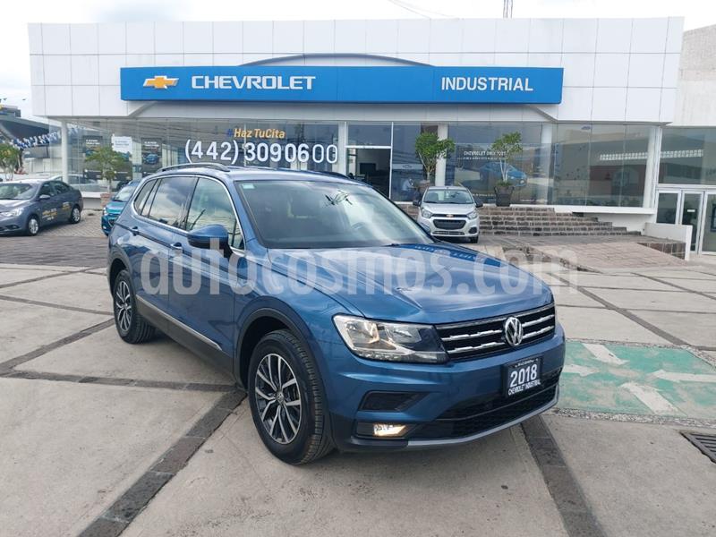 Volkswagen Tiguan Comfortline usado (2018) color Celeste precio $375,000