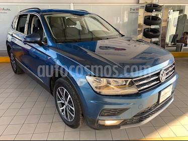 Volkswagen Tiguan Comfortline 7 Asientos Tela usado (2018) color Azul precio $409,900