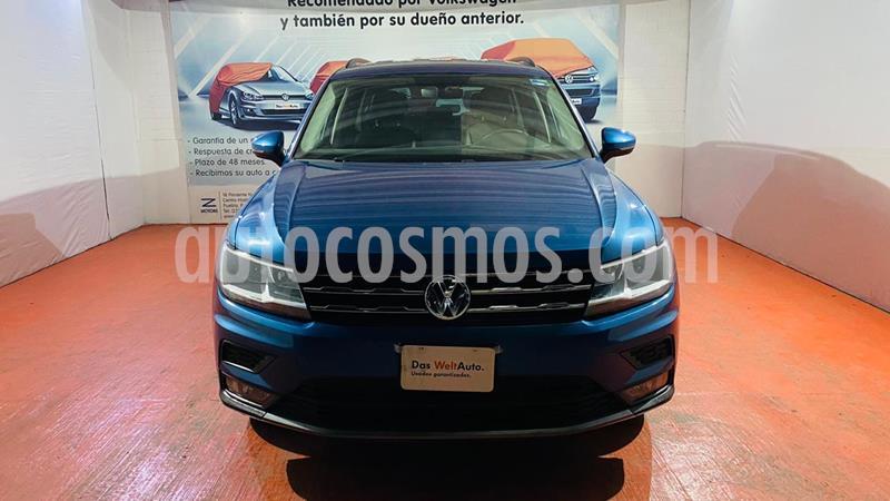 Volkswagen Tiguan Comfortline 5 Asientos Piel usado (2020) color Azul precio $430,000
