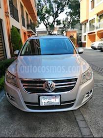 Volkswagen Tiguan Track & Fun 4Motion Piel usado (2011) color Plata precio $167,000