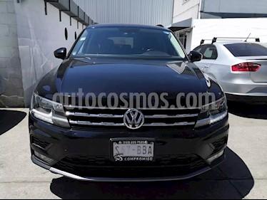 Volkswagen Tiguan Comfortline 7 Asientos Tela usado (2018) color Negro precio $365,000