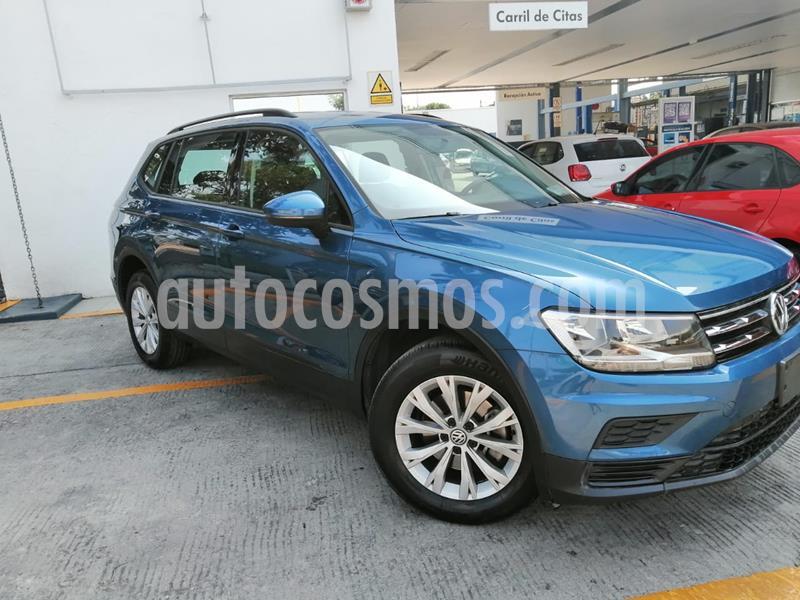 Volkswagen Tiguan Trendline Plus usado (2019) color Azul precio $365,000