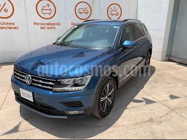 Volkswagen Tiguan 5p Confortline L4/1.4/T Aut 7 Pas usado (2019) color Azul precio $405,000