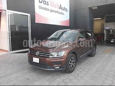Volkswagen Tiguan Comfortline 5 Asientos Piel usado (2018) color Cafe precio $331,900