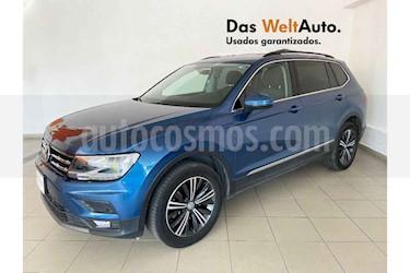 Volkswagen Tiguan 5p Confortline L4/1.4/T Aut 7 Pas usado (2019) color Azul precio $409,988