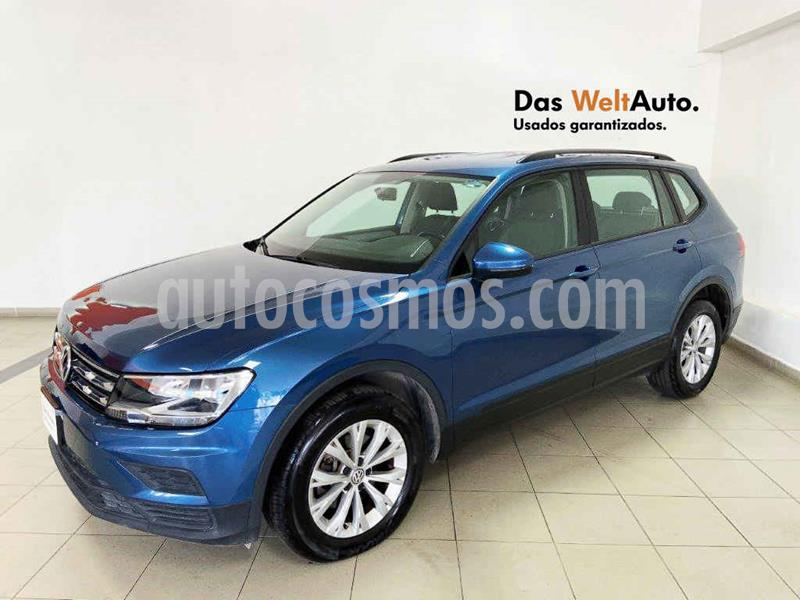Foto Volkswagen Tiguan Trendline Plus usado (2018) color Azul precio $329,138