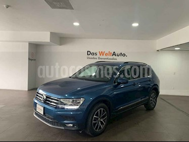 Volkswagen Tiguan Comfortline 7 Asientos Tela usado (2018) color Azul precio $380,000