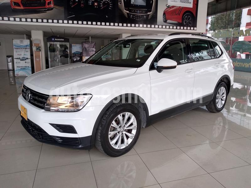 Volkswagen Tiguan Trendline Plus usado (2018) color Blanco precio $299,000