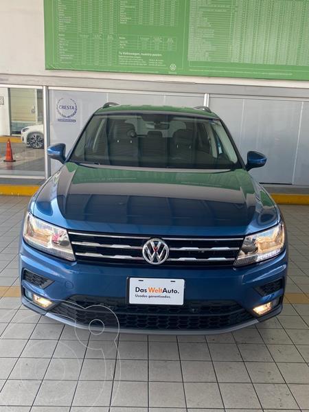 Volkswagen Tiguan Comfortline 5 Asientos Piel usado (2019) color Azul precio $394,900